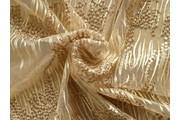 Krajky - elastická krajka 9738 zlatá