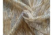 Krajky - elastická krajka 9738 stříbrná