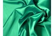 satén strečový 348 světle zelený