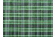 košilová látka 9850 zelený proužek s lurexem