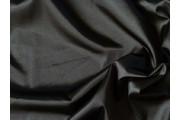 satén strečový 313 černý