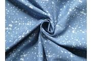 světle modrá riflovina 9831 bubliny