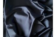 satén strečový 312 tmavě modrý