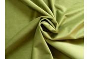 polyesterový samet zelený