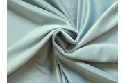 polyesterový samet modrošedý