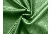 žakárová podšívka cachemire 950 zelená