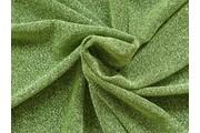 společenská látka s glittery 1 zelená
