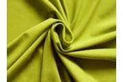 bavlněný úplet 1008 zeleno žlutý