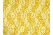 krajka 3066 žlutá podšitá