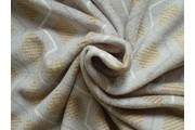 Fleece - coral fleece  šedý s kosočtverci