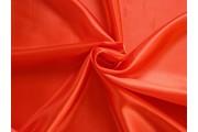 saténová podšívka červená