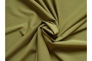 úplet scuba crepe 1067 khaki zelený