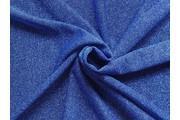 společenská látka s glittery 5 modrá