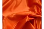 satén 220 oranžový