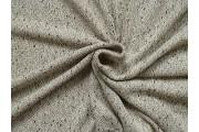 béžová pletenina 1953 černé nopky