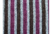 kabátovka buklé 1027 šedo fialové pruhy