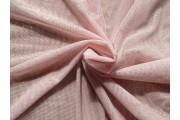 elastický světle růžový tyl pandora s glittery