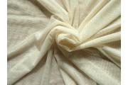 elastický smetanový tyl pandora s glittery