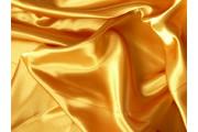 satén 15 zlato žlutý