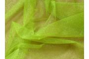 tyl effect signálně zelený s glittery