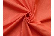 červená košilová džínovina 2051 s puntíky