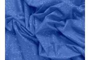 elastický  modrý tyl pandora s glittery