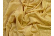 elastický zlatý tyl pandora s glittery