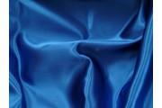 satén 22 modrý