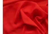 šifon 116 tmavě červený