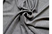 tmavě šedý bavlněný úplet felpa
