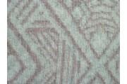 smetanová kabátovka 2147 vařená vlna růžový vzor