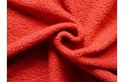 červená kabátovka 2148 buklé