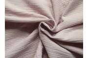 krešovaná bavlněná látka 901 růžová