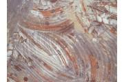 starozlatá hedvábná šatovka 2080 tahy štětcem