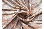 Hedvábí - starozlatá hedvábná šatovka 2080 tahy štětcem