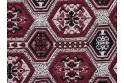 vínový úplet 2105 šestiúhelníkový vzor