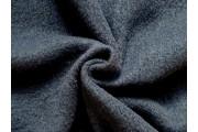 kabátovka vařená vlna temně modrá