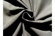 tmavě šedá látka na kostýmy 2435 s vlasem