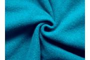 kabátovka vařená vlna tyrkysová