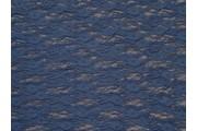 elastická krajka 3212 tmavě modrá