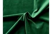 samet lahvově zelený