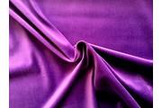 samet fialový