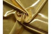 flitrová látka zlatá