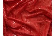 Pailetes 1 červená