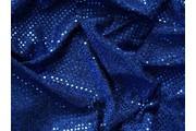Pailetes 4 modrá