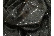 Pailetes 5 černá