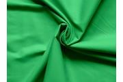 bavlněný satén tmavě zelený