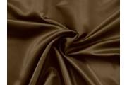 polyesterová podšívka 111 tmavě hnědá