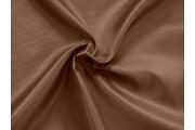 polyesterová podšívka 164 hnědá