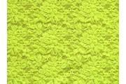 elastická krajka 22 neonově žlutá